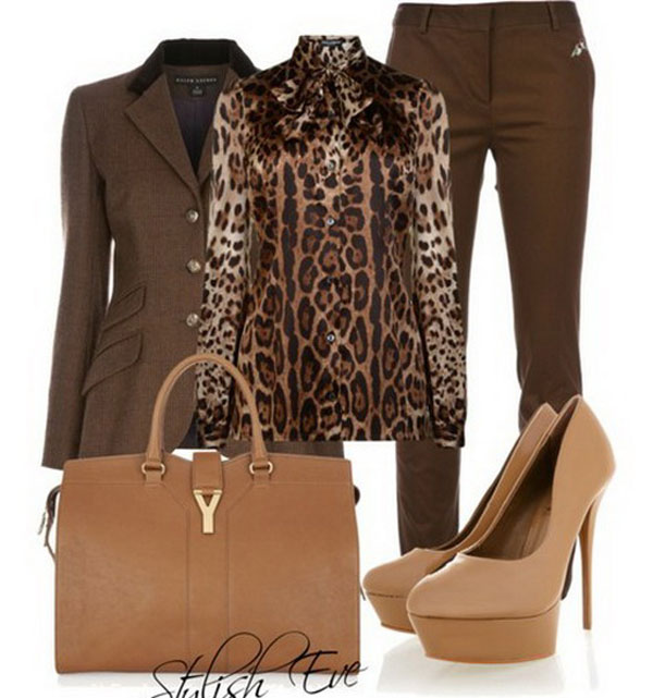 Brown Winter Outfits for Women