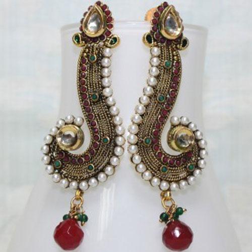 antique imitation earrings