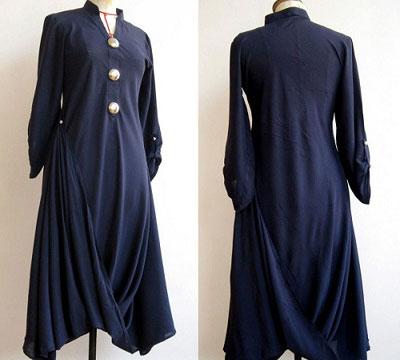 draped kurta