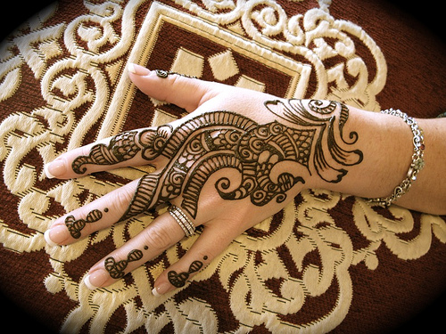 Arabic Mehndi Design for-Hand