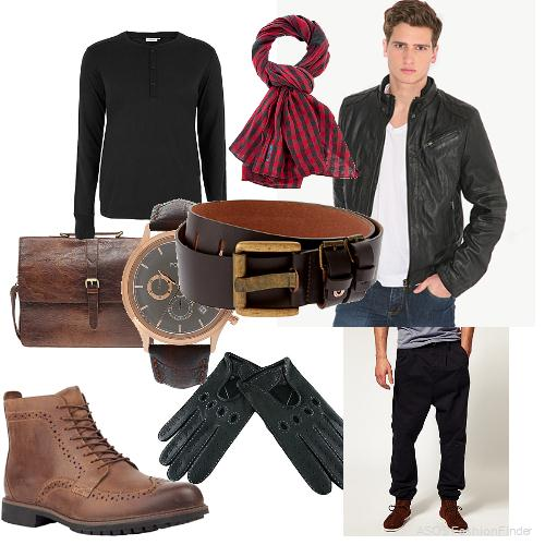 beautiful outfits for men in winter