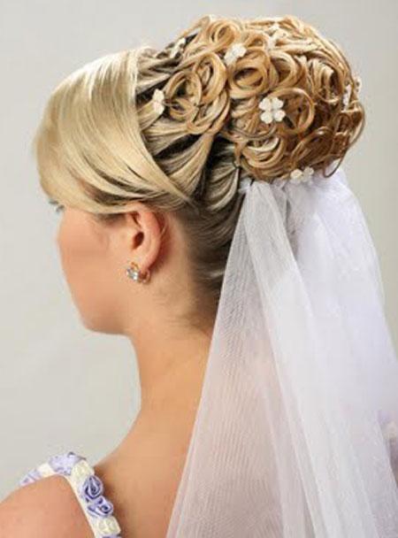 Bridal Wedding Hairstyles for Long Hairs | Shanila\'s Corner