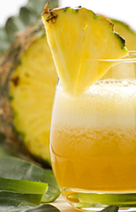 pineapple smoothie short