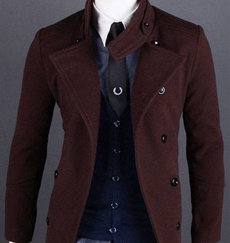 Brown Wool Coats