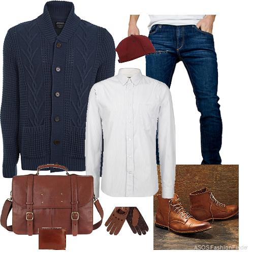 winter outfits for men