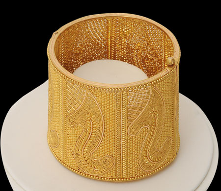 Beautiful gold bangles