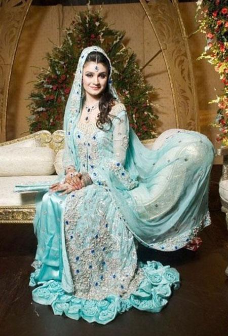 Walima Sky Blue Dresses-For