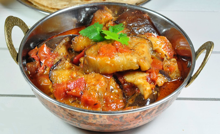 Baingan Tomato Curry by Chef Zakir