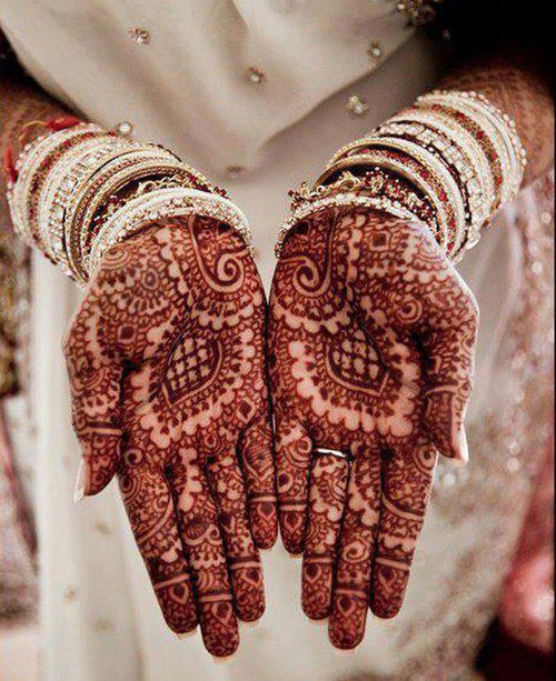 Bridal Latest Mehndi Designs for Hands