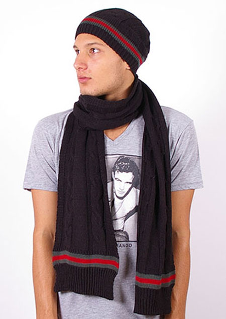 Gucci Wool Knitted Scarf and hat set  1ee8736f9eff