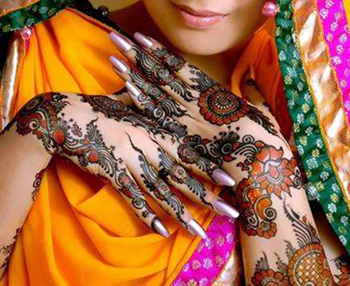 new year gorgeous indian brides mehndi designs for girls