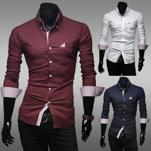 Free-Shipping-2014-spring-New-Fashion-Casual-slim-fit-long-sleeved-men-s-dress-shirts-Korean