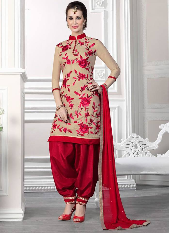 Latest punjabi patiala suit designs 2015 shanila 39 s corner for Girls suit design
