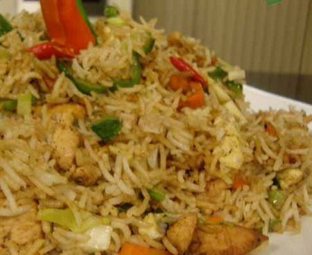 Chicken Fried Rice Recipe by Chef Gulzar