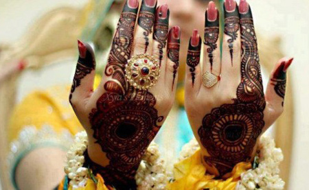 Bridal New Arabic Hand Mehndi Designs