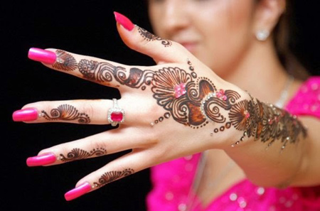 Latest Mehndi Designs 2015 For Women(1)