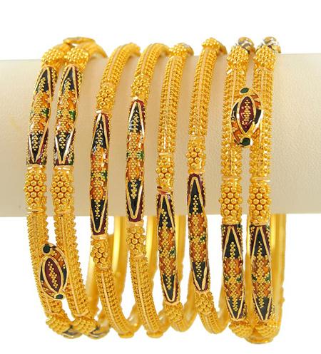 latest gold churi design shanila s corner