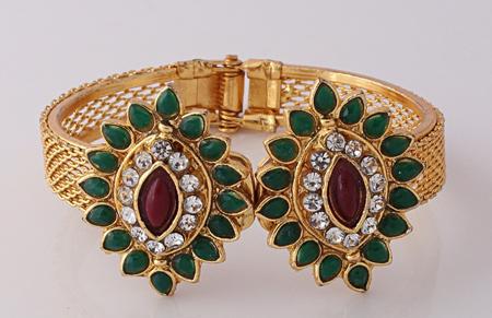 Diamond Bangles Indian Designs