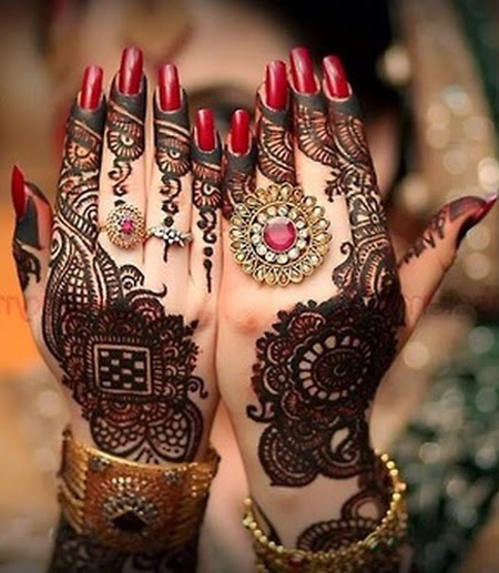 Latest Eid mehndi Designs Collection 2015