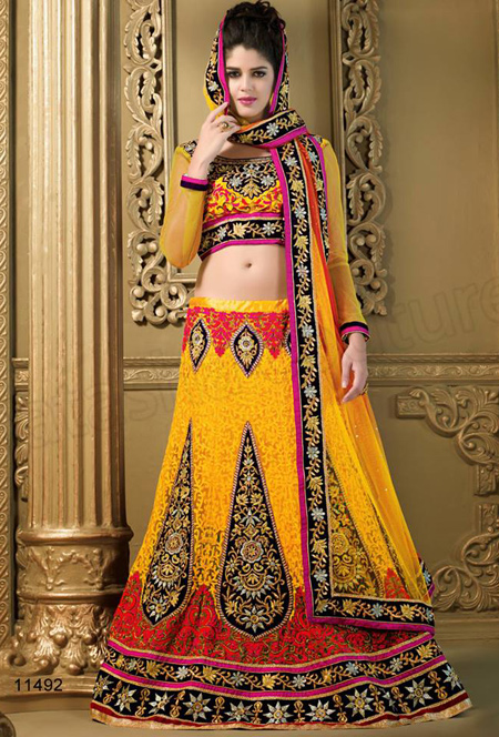 Party Wear Lehenga Choli Designs