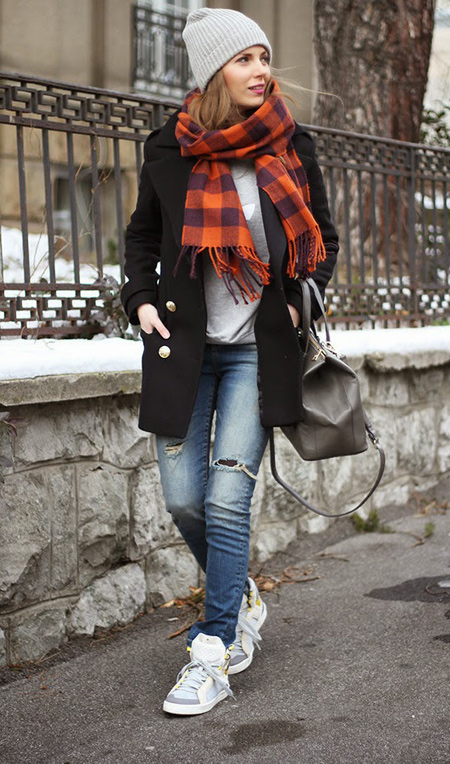ae1a7b5fdc6 Casual Winter Outfits 2015  Stylish Designs