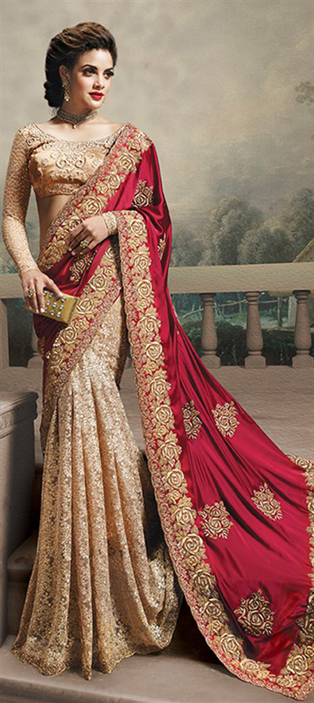 efb4b84a8b Indian Bridal Sarees Designer Wear Indian Bridal Sarees Designer Wear ...