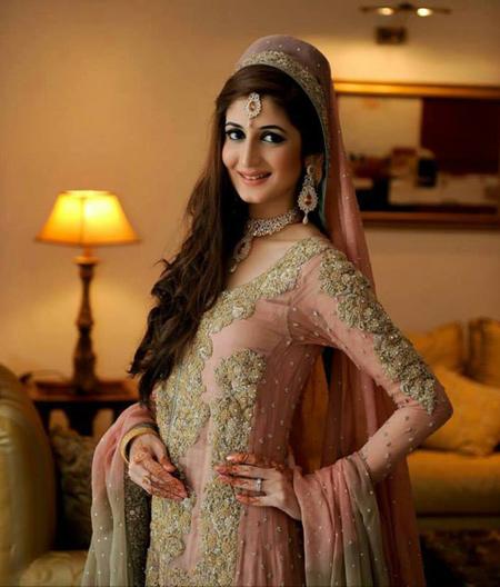 Asian Bridal Hairstyle : Asian bridal makeup and hairstyle shanilas corner