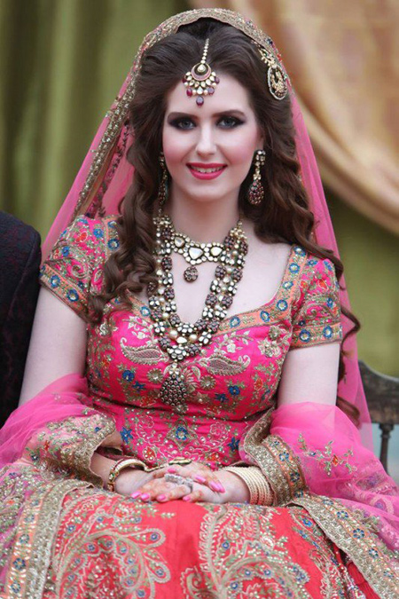 Asian Bridal Makeup And Hairstyle Shanila S Corner