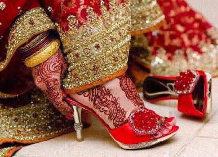 Stylish Bridal Fancy Shoes 2016