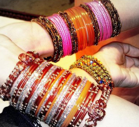 Stylish Glass Bangles Eid Collection