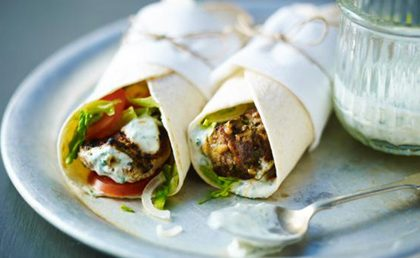 Tandoori Lamb Wrap Recipe