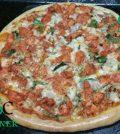 Tandoori Chicken Tikka Pizza