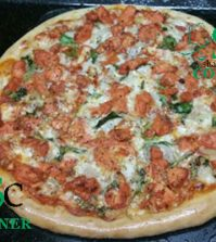 Tandoori Chicken Tikka Pizza