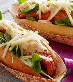 Malai Chicken Hot Dog