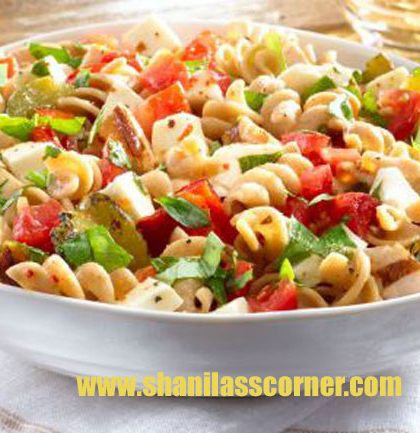 Italian Pasta Salad Recipe & Nutrition Facts