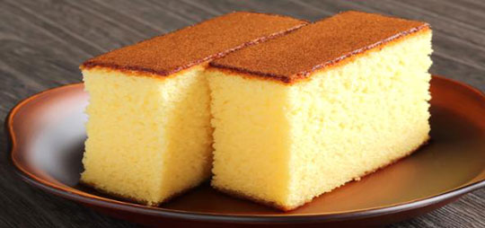 Sponge Cake With Or Without Baking