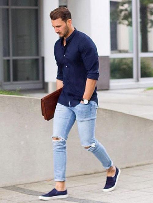 Mens Casual Summer Fashion