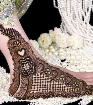 Mehndi Designs for Feet 2017