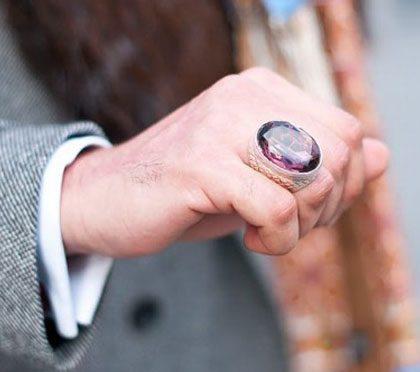 Mens Stone Rings