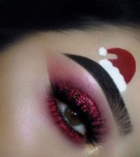 Christmas Eyeshadow Ideas