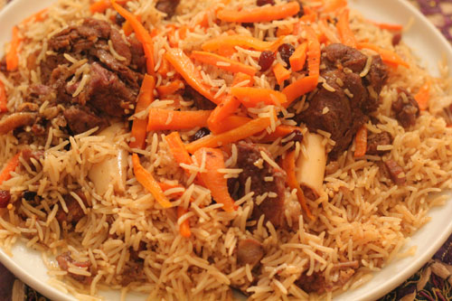 Mutton Kabuli Pulao Recipe