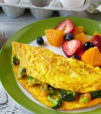 Classic Broccoli & Cheese Omelet