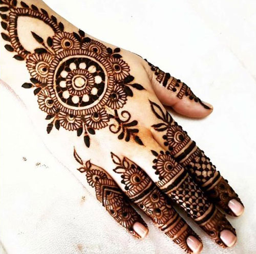 New Mehndi Designs Collection