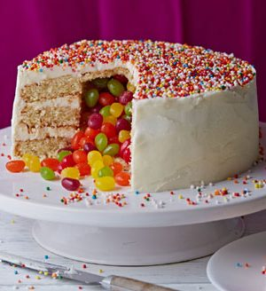 Surprise Piñata cake recipe