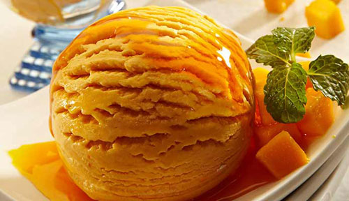 Mango Ice Cream Recipe