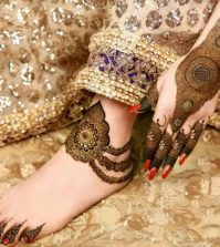 Latest Mehndi Designs For Hands And Feet
