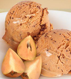Chikoo Ice Cream Recipe