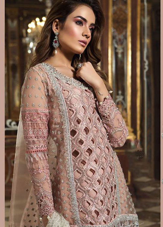 Party Wear Embroidered Dresse