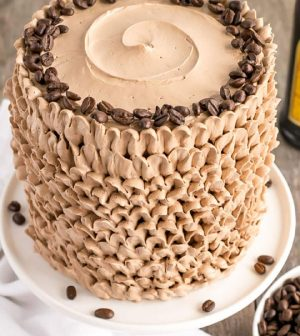 Kahlua Cake With Mocha Buttercream