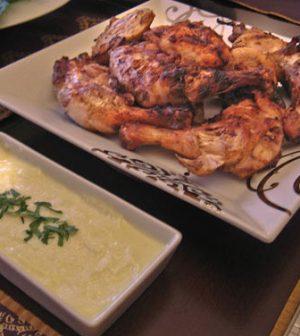 Lebanese Grilled Chicken Recipe